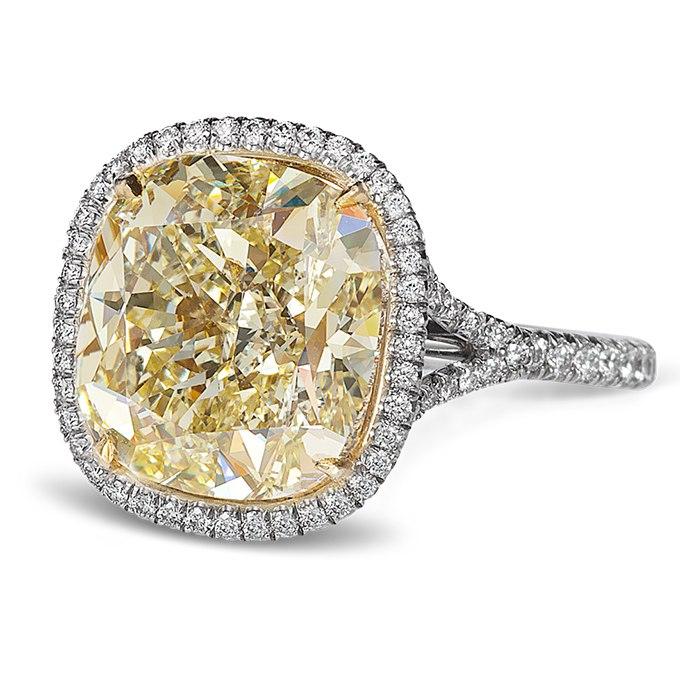 Drv pcp29 c - 30 ослепительных брачных колец с желтыми бриллиантами