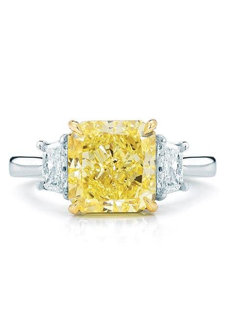 eV03EUPIOx0 - 30 ослепительных брачных колец с желтыми бриллиантами