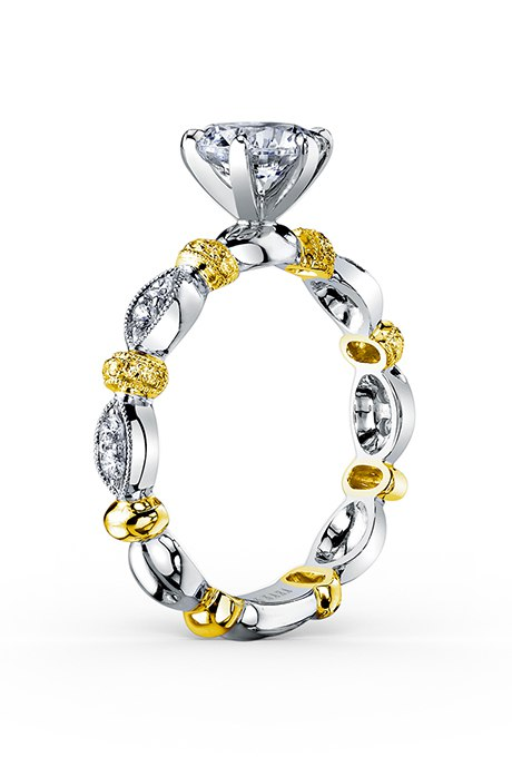 6ERYu2HCn4 - 30 ослепительных брачных колец с желтыми бриллиантами