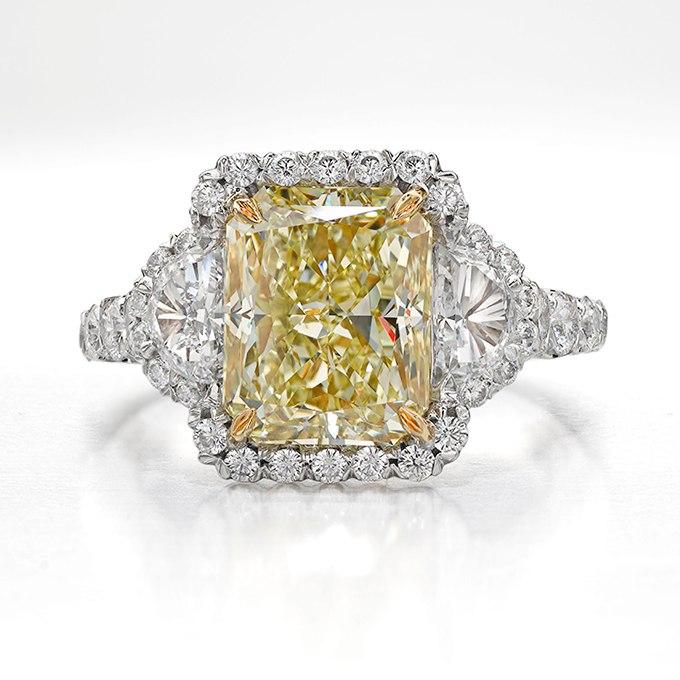 eFGHvDt5dBo - 30 ослепительных брачных колец с желтыми бриллиантами