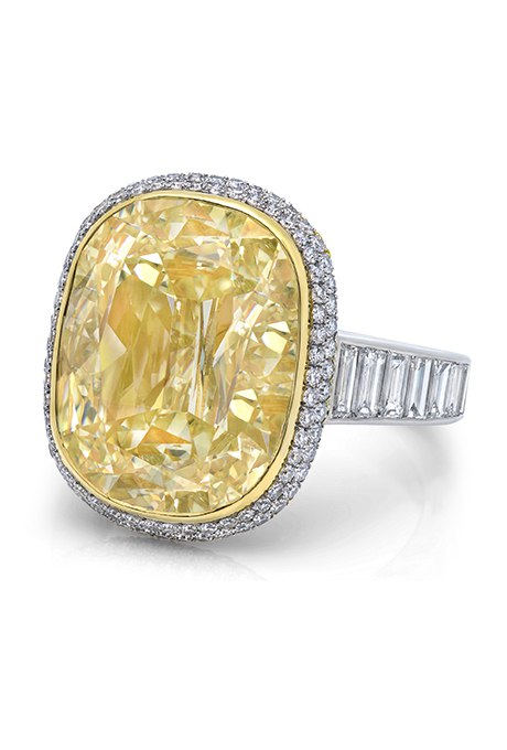 eSFfC sh5pk - 30 ослепительных брачных колец с желтыми бриллиантами