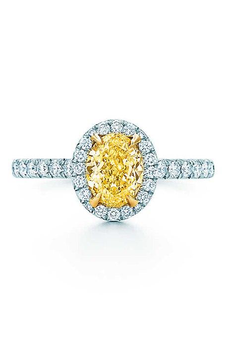 CYCwfrnslE - 30 ослепительных брачных колец с желтыми бриллиантами
