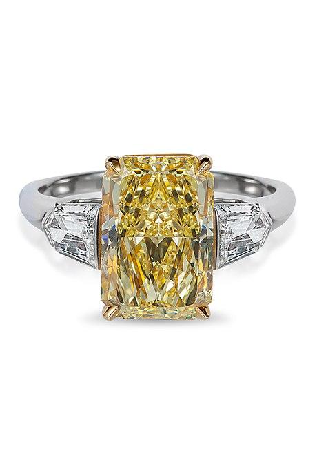 l1QARH65rzw - 30 ослепительных брачных колец с желтыми бриллиантами