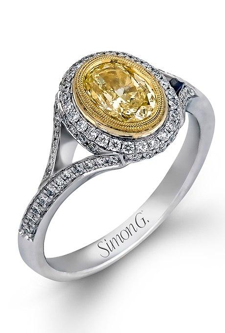 iuuGdI3Yt08 - 30 ослепительных брачных колец с желтыми бриллиантами