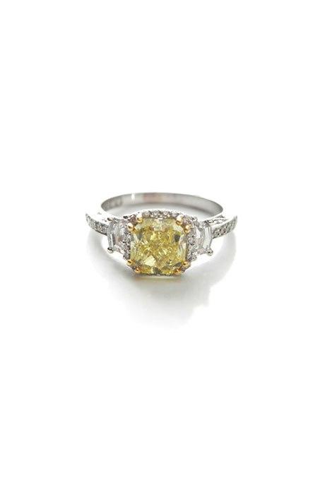 wnjcjz3FPKA - 30 ослепительных брачных колец с желтыми бриллиантами