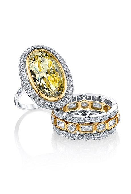 q2Hj0rwZt7c - 30 ослепительных брачных колец с желтыми бриллиантами