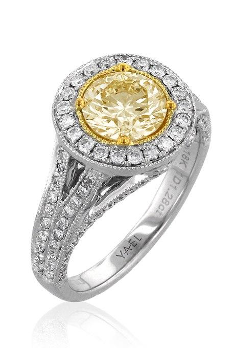 D6H1WcRtWGE - 30 ослепительных брачных колец с желтыми бриллиантами