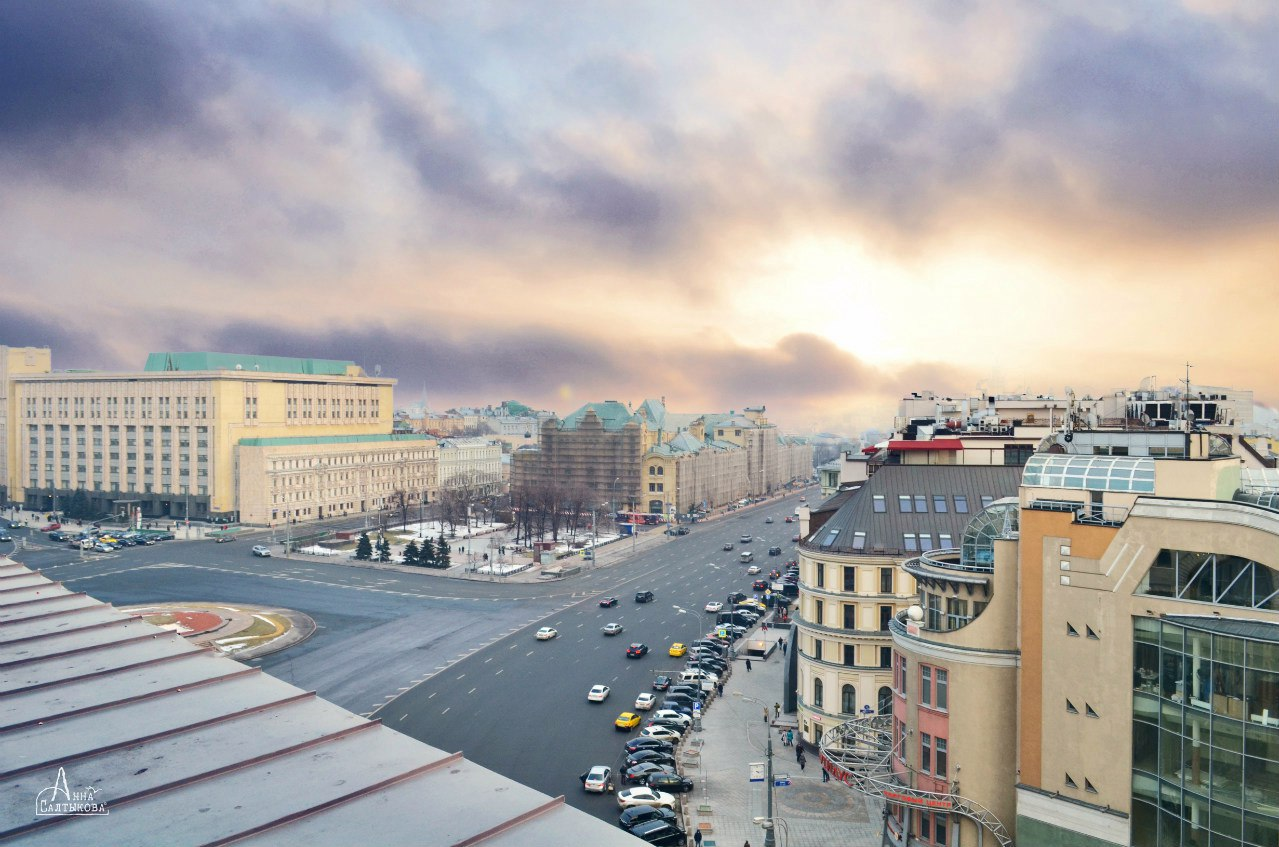 Москва. Фотограф Анна Салтыкова.