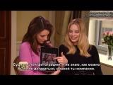 Интервью для «Entertainment Tonight» в рамках промоушена фильма «Виски Танго Фокстрот» («Павильон смеха») | 20.02.16 (русские су