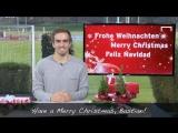 Поздравление с Рождеством для Бастиана от Филиппа (на англ)