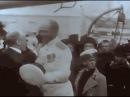 1912, Экспедиция Георгия Седова на Северный полюс. В кадре Архангельск, Карское мо ...