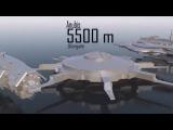 Размеры космических кораблей из разных фильмов и игр.