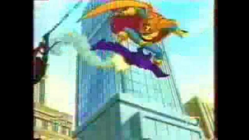 Человек-паук (НТВ) реклама заставка