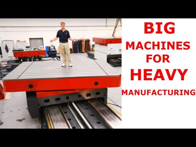 Heavy Machining FERMAT's Gigantic CNC Floor Type Horizontal Boring Mill