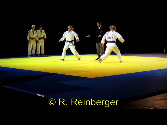Jiu Jitsu Ju Jitsu Ju Jutsu World Championship 2012 Vienna DUO WOMEN Finale 柔術 試合