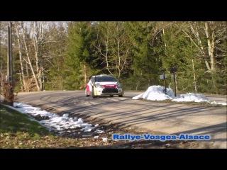 Essai Sébastien Loeb 2016 Rallye Vosges Alsace