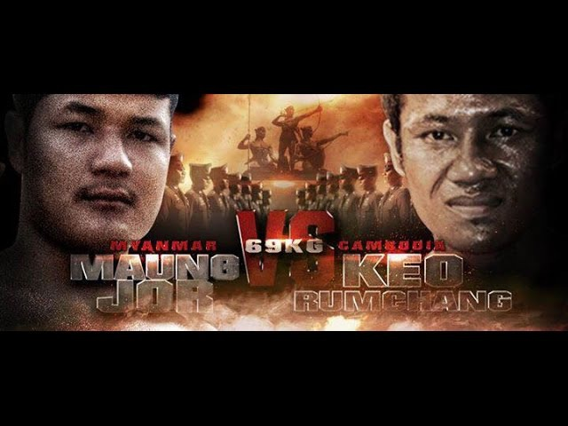 ★ THAI FIGHT ★ Keo Rumchang (Cambodia) vs Maung Jor (Myanmar) ~ 21/11/2015