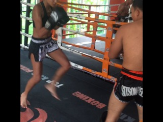 GracieCarvalho on Instagram: Training hard!!! Thanks all the trainers at  @sitsongpeenongphuket for teaching me all these good techniques , thanks mama for the video