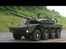 JGSDF 105mm 8X8 Maneuver Combat Vehicle MCV Testing 1080p