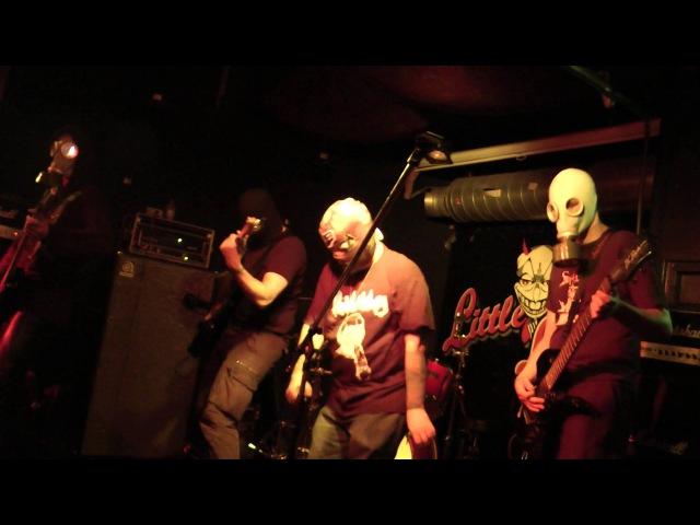 Nunwhore Commando 666 Live @ Little Devil (Incubate 2013)