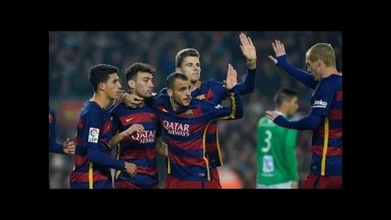 Barcelona vs Villanovense 6-1 All Goal highlights Copa del Rey 2/12/2015