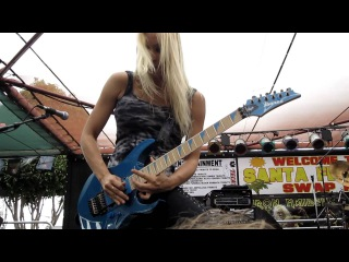 The Iron Maidens - Caught Somewhere In Time (LIVE @ Santa Fe Springs Swap Meet 9-17-11)