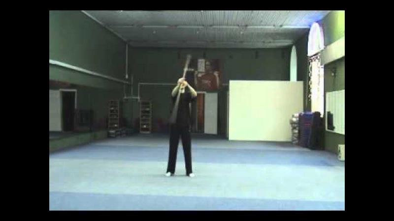Цигун. Упражнения с палкой