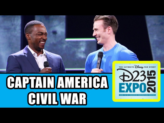 Captain America: Civil War D23 Expo Panel Highlights - Chris Evans, Anthony Mackie, Kevin Feige