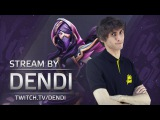 Dota 2 Stream: Na`Vi Dendi playing Templar Assassin (Gameplay & Commentary)