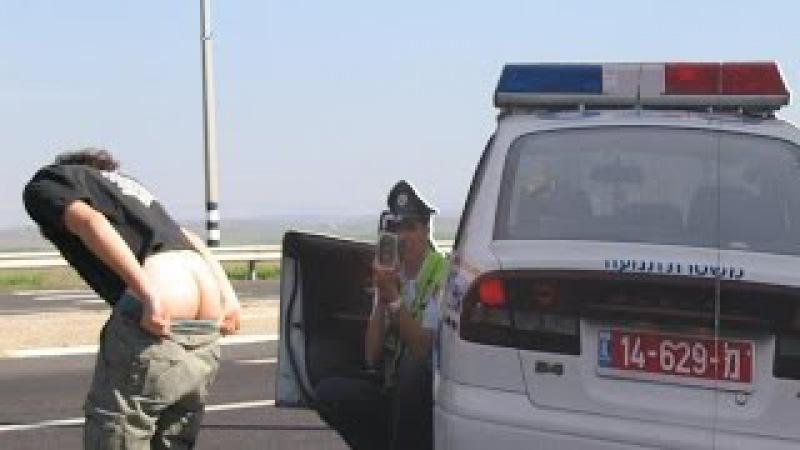 Как работает полиция Израиля / משטרת ישראל
