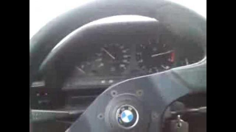 BMW E30 335i M30B35 3.5 Acceleration 0-200 LPG