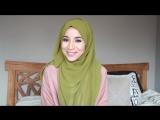 Хиджаб (4 варианта как повязать шифоновый палантин)