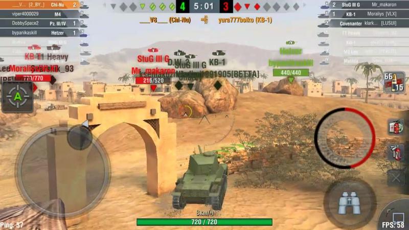 World of Tanks Blitz (Type 3 Chi-Nu) Blitztime