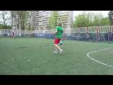 Футбол. Игра с Лёхой. 1 сет.