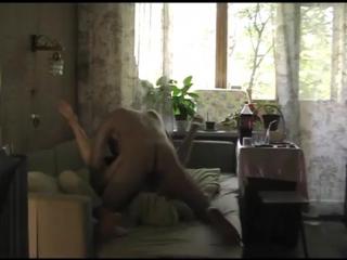 Татьяна Ивановна развлекается после работы  Домашнее порно