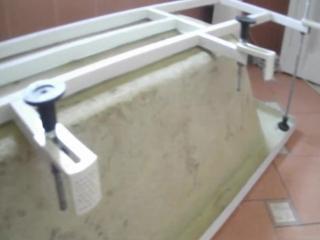 СБОРКА-МОНТАЖ акриловой ванны