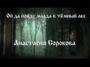 Анастасия Сорокова.  Ой да пойду млада в тёмный лес