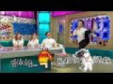 [RADIO STAR] 라디오스타 - Taekwondo made pants tear 김혜성의 태권도 시범 중 발생한 돌발상황! !  20150812