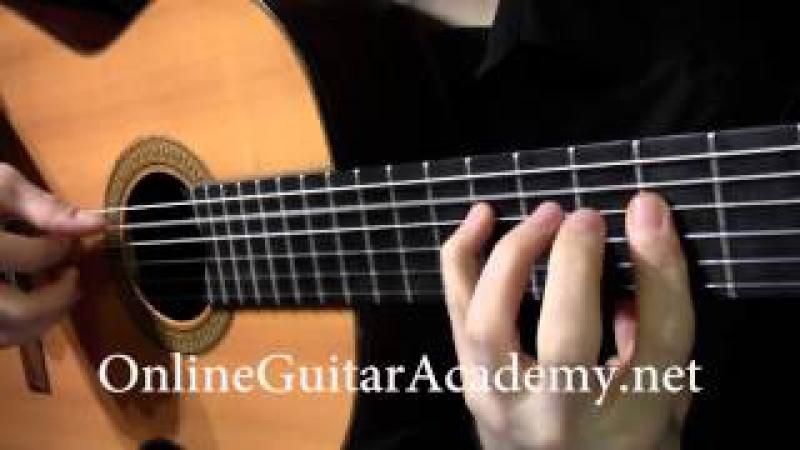 The Four Seasons, Winter, 1st mvt, A.Vivaldi (solo classical guitar arrangement by Emre Sabuncuoglu)