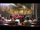 Ave Verum Гнесинский хор в Испании