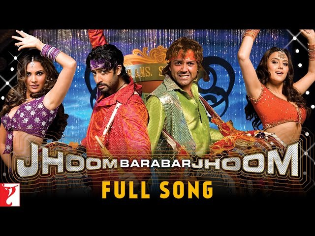 Jhoom Barabar Jhoom Full Title Song Abhishek Bachchan Bobby Deol Preity Zinta Lara Dutta
