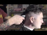 Haircut Tutorial How to Cut &amp Style a Messy Undercut Slick Back X Uppercut Deluxe Matt Clay