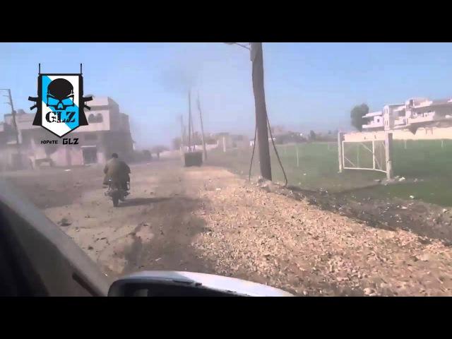 Siria - Homs - Terroristas en bombardeos usan a los civiles como escudo humano- 24 Febrero 2016