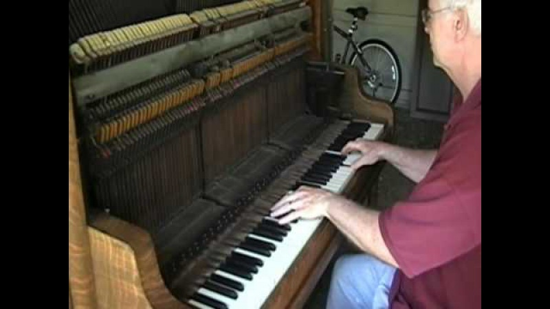 Old piano adventure the saloon sound