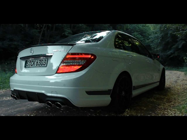 ' 2014 Mercedes-Benz C63 AMG Edition 507 ' LOUD StartUp SOUND - TheGetawayer