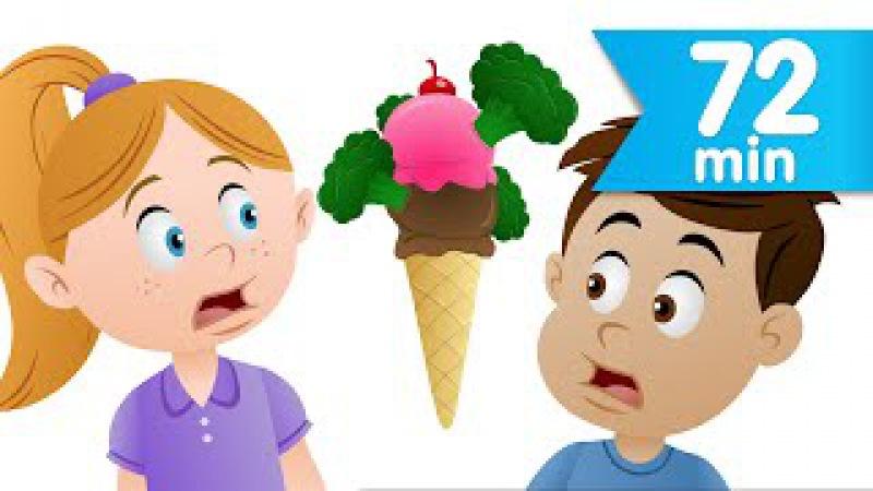 Do You Like Broccoli Ice Cream? More   Nursery Rhymes   Super Simple Songs