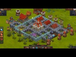 Нападаем и гриферим!Битва за Трон  Часть 2