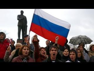 На Украине наступает