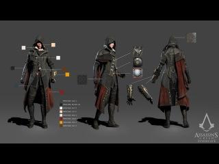 Assassins Creed Syndicate - Костюм Иви Фрай Анализ и разбор
