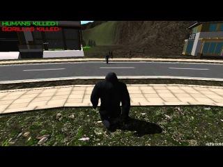 Gorilla Simulator - Симулятор гориллы ( Сумасшедшие игры )